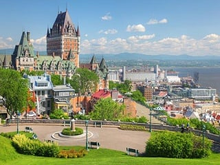 1-Day Quebec City and Montmorency Falls Sightseeing Tour from Montreal