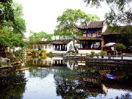 1-Day Suzhou Garden and Zhouzhuang Water Village Tour from Sha...