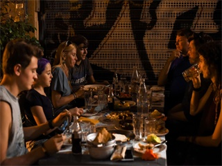 Athens Highlights Evening Tour with Meze Dinner