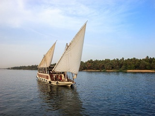 8-Day Luxor, Gebel Silsileh, Aswan, Kom Ombo, Dahabyia Queen Tyi  I or II Cruise Tour from Luxor