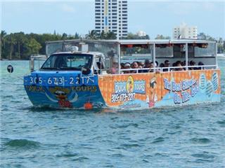 1.5 Hours Miami South Beach Duck Tour