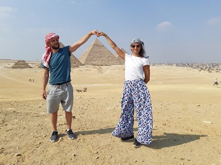1-Day Giza Pyramids, Sphinx, Memphis and Sakkara with Lunch Private Tour