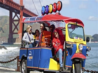 Ultimate San Francisco Lucky Tuk Tuk City Tour