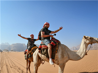 4-Day Wadi Rum, Petra, Kerak, Amman Short Tour from Amman with Airport Transfers