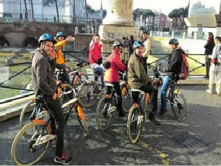Rome Guided Bike Tour