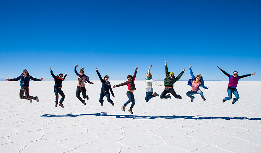5-Day Uyuni Salt Flats & Desert Adventure from La Paz