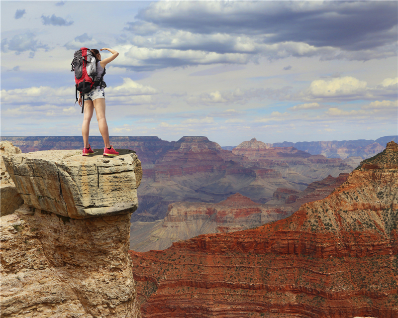 1 Day Grand Canyon South Rim Tour From Las Vegas With Hotel Pick Up
