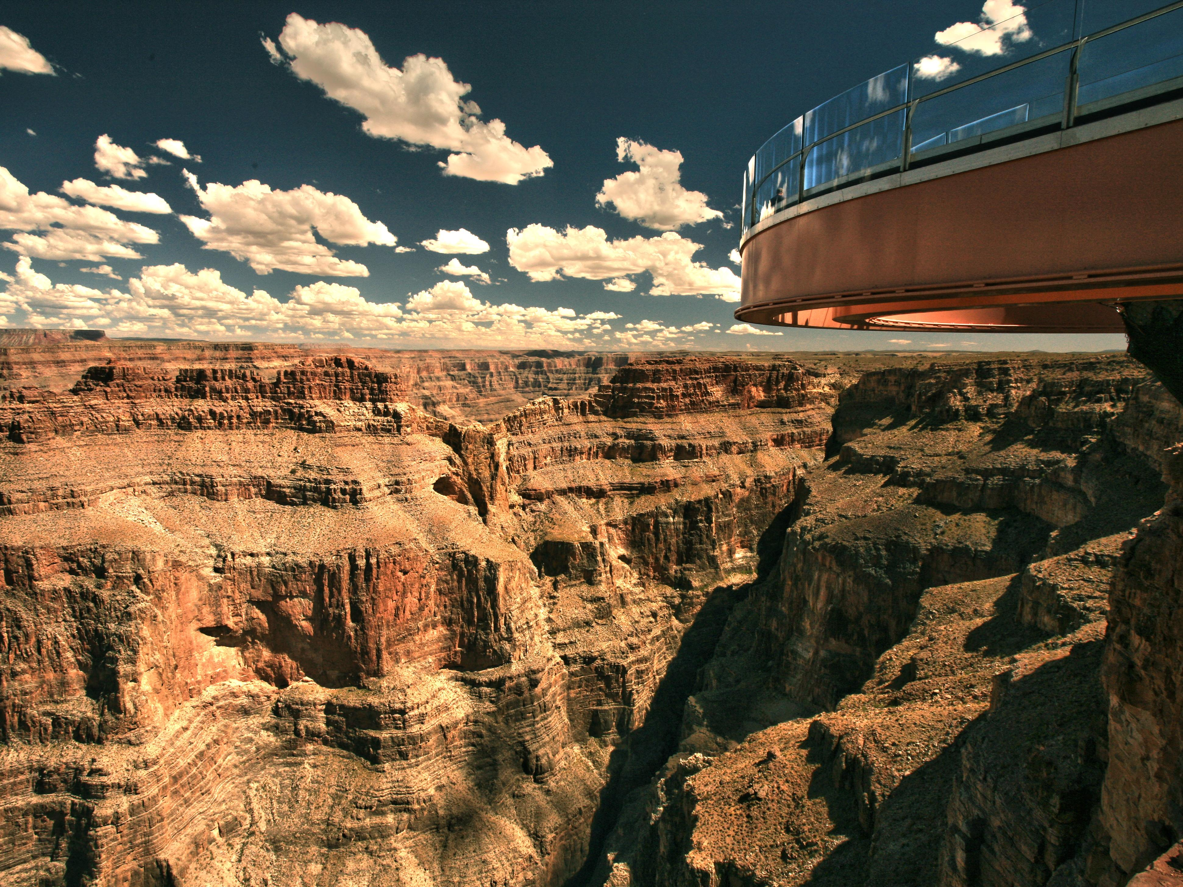 3 Day Las Vegas Grand Canyon West Rim Skywalk Tour From Los Angeles