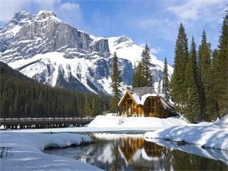1-Day Lake Louise and Abraham Lake Tour from Calgary